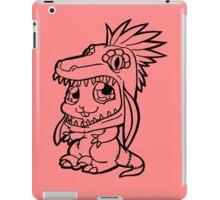 Cute Bunny Raptor Suit iPad Case/Skin