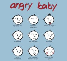 Angry baby compilation Baby Tee