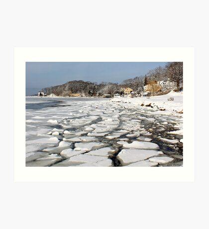 Ice Harbor  Art Print