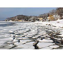 Ice Harbor  Photographic Print
