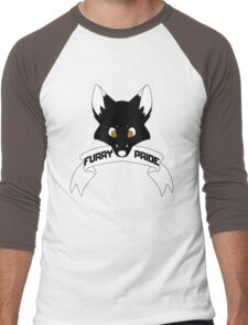 Furry Pride - Fox Men's Baseball ¾ T-Shirt