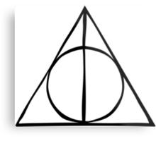 Harry Potter - Deathly Hallows Metal Print