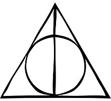 Harry Potter - Deathly Hallows Photographic Print