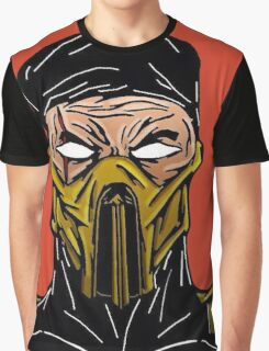 Mortal Kombat's Scorpion Graphic T-Shirt