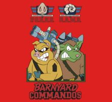 Barnyard Commandos - Color - Group Kids Tee