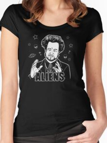 The Aliens Guy (Giorgio Tsoukalos) Women's Fitted Scoop T-Shirt