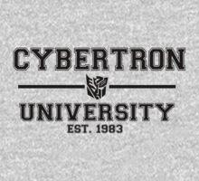 Cybertron University  (Black) by TheSassmaster