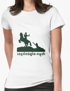 Kompongchhnang-Cambodia Womens Fitted T-Shirt
