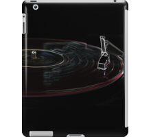 Red Record iPad Case/Skin