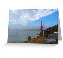 Golden Gate Bridge from Vista Point Greeting Card
