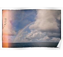Double Rainbow over The Indian Ocean Poster