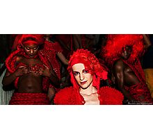 Pierre Garroudi: Red Collection - Number 6 Photographic Print