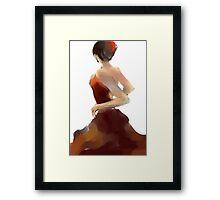 Flamenca12 Framed Print
