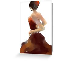 Flamenca12 Greeting Card