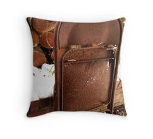 Take Your Seat Throw Pillow