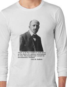 W.E.B. DuBois Long Sleeve T-Shirt