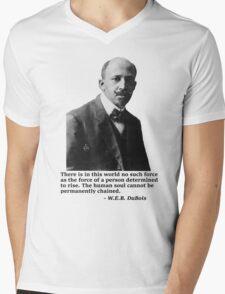W.E.B. DuBois Mens V-Neck T-Shirt