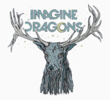 Imagine Dragons Deer by BRAINROX