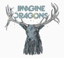Imagine Dragons Deer by BRAINROX