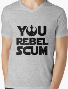 Star Wars - You Rebel Scum Mens V-Neck T-Shirt