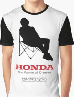 Alonso F1 - #PlacesAlonsoWouldRatherBe Graphic T-Shirt