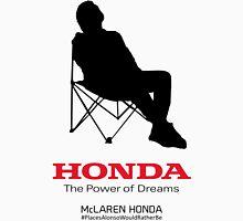 Alonso F1 - #PlacesAlonsoWouldRatherBe Unisex T-Shirt