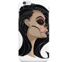 Candy Skull Girl iPhone Case/Skin