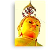 Budda head  Canvas Print
