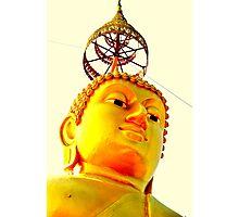 Budda head  Photographic Print