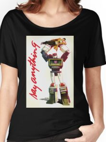 soundwave - say anything Women's Relaxed Fit T-Shirt