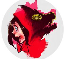 Red Riding Hood ate the Wolf by Iazlo
