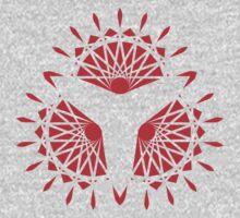 Triangular Fans Pattern Kids Clothes