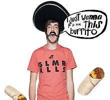 Burrito love by GullibleGuppyyy