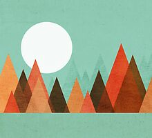 From the edge of the mountains by Budi Kwan