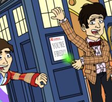 A Dent in the TARDIS Sticker