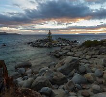 Sunset at Hidden Beach by Richard Thelen