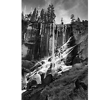 Ice On Vernal Falls Photographic Print