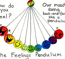 The Feelings Pendulum - Colored by Nalinne Jones