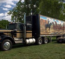 "1973 Kenworth W900A ""Smokey and the Bandit"" Semi Truck Replica by TeeMack"