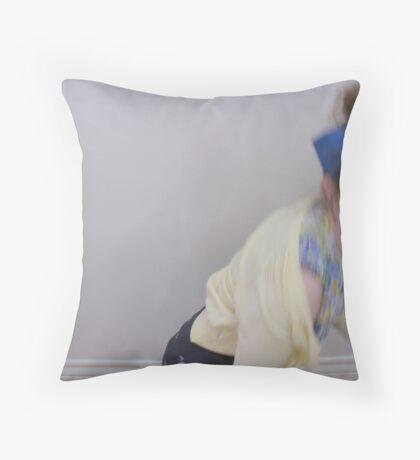 Hide & Go Seek Throw Pillow