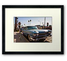 Los Angeles Cadillac  Framed Print