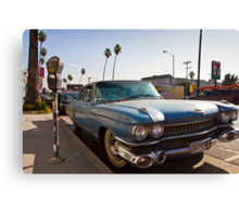 Los Angeles Cadillac  Canvas Print