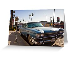 Los Angeles Cadillac  Greeting Card