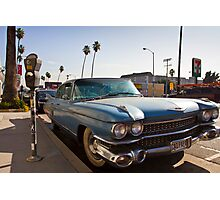 Los Angeles Cadillac  Photographic Print
