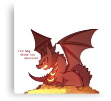 Smaug the Kawaii Canvas Print