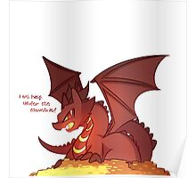Smaug the Kawaii Poster