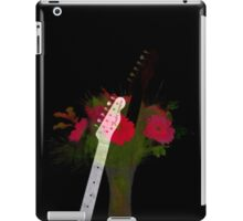 Guitar Flowers 2 iPad Case/Skin