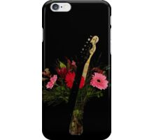 Guitar Flowers 3 iPhone Case/Skin