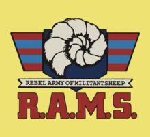 Barnyard Commandos - R.A.M.S. - Logo - Color Kids Clothes