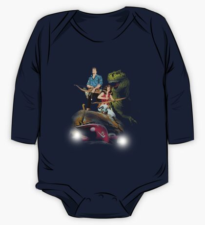 Cadillacs and Dinosaurs - Color One Piece - Long Sleeve